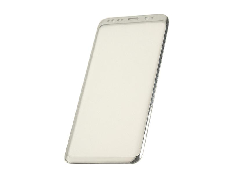 Купить Защитное стекло 3D PowerPlant для Samsung S8 Silver