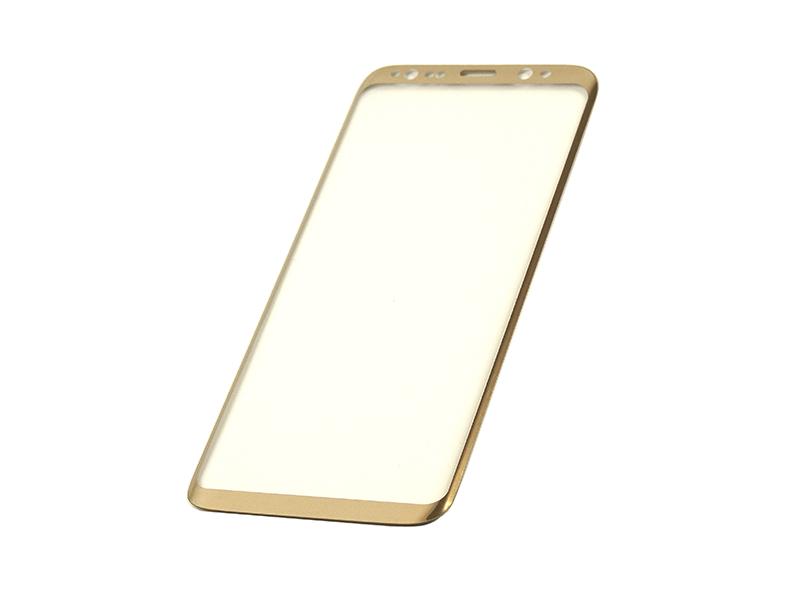 Купить Защитное стекло 3D PowerPlant для Samsung S8 Gold