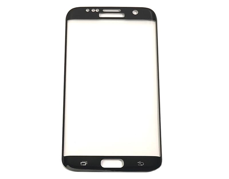 Купить Защитное стекло 3D PowerPlant для Samsung S7 Edge Black