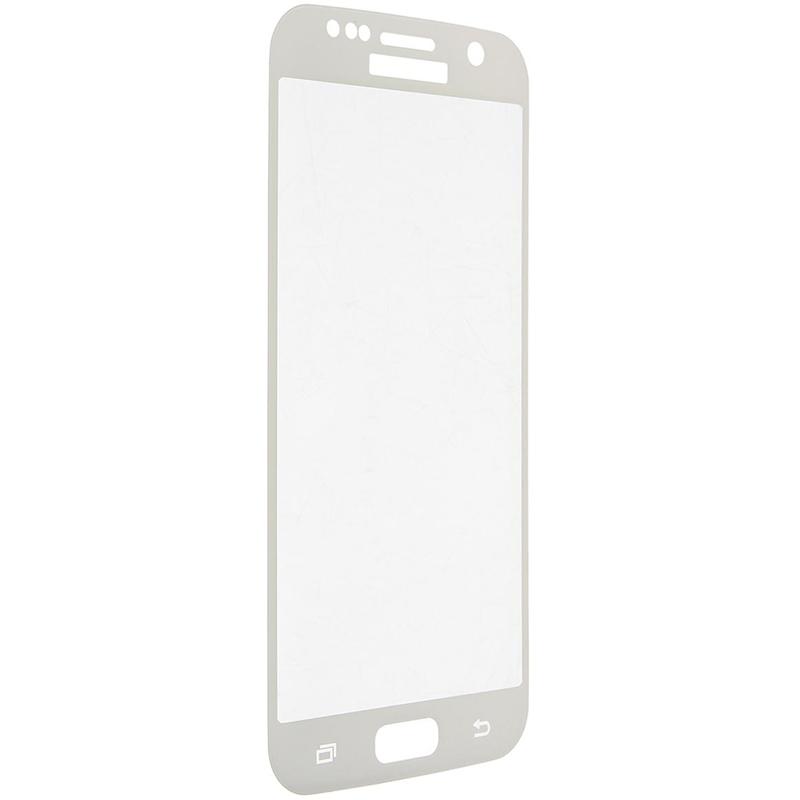 Купить Защитное стекло 3D PowerPlant для Samsung S7 Edge Clear