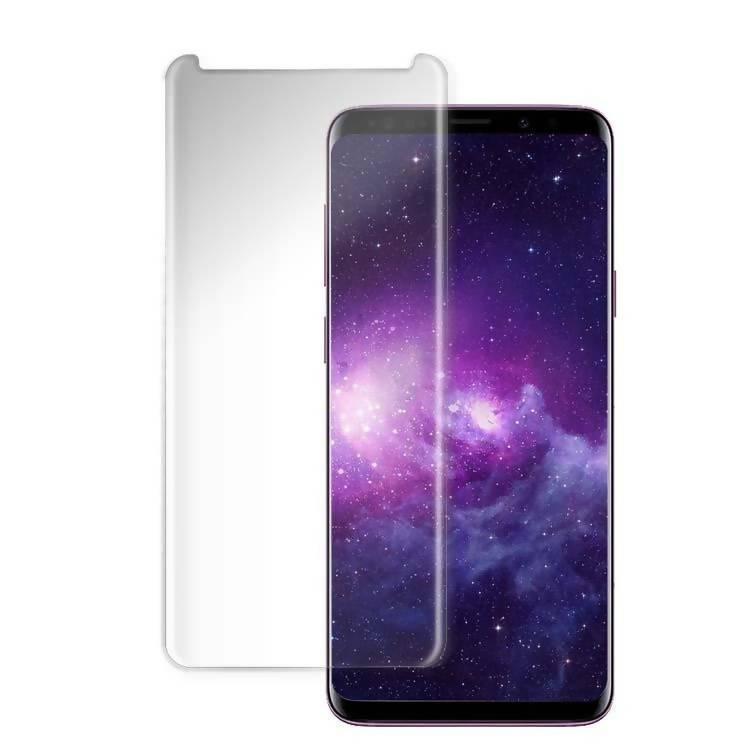 Купить Защитное стекло PowerPlant для Samsung S8 Plus (жидкий клей + УФ лампа)