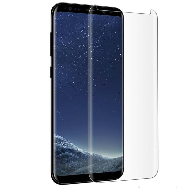 Купить Защитное стекло PowerPlant для Samsung Galaxy S9+ (жидкий клей + УФ лампа)