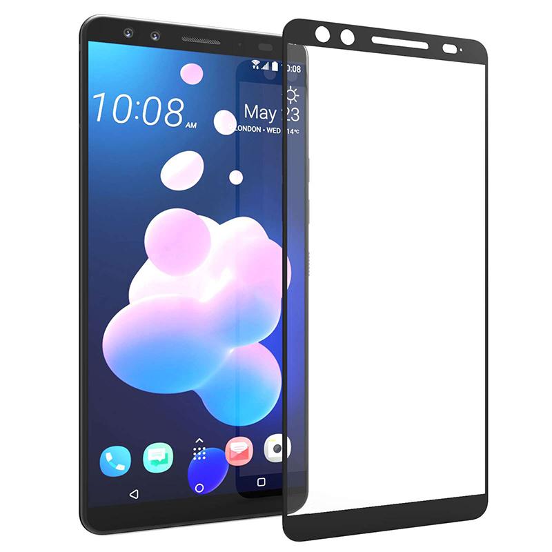 Купить Защитное стекло Full screen PowerPlant для HTC U12 Plus, Black