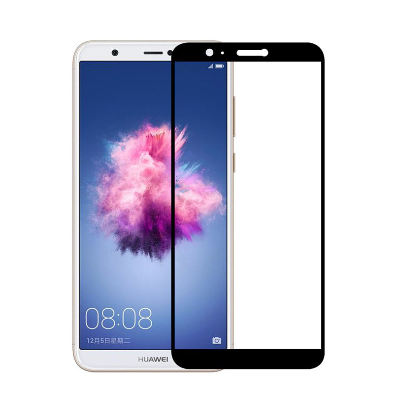 Купить Защитное стекло Full screen PowerPlant для Huawei P Smart, Black