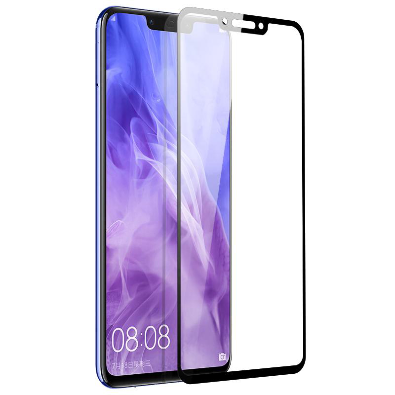 Купить Защитное стекло Full screen PowerPlant для Huawei P Smart Plus, Black