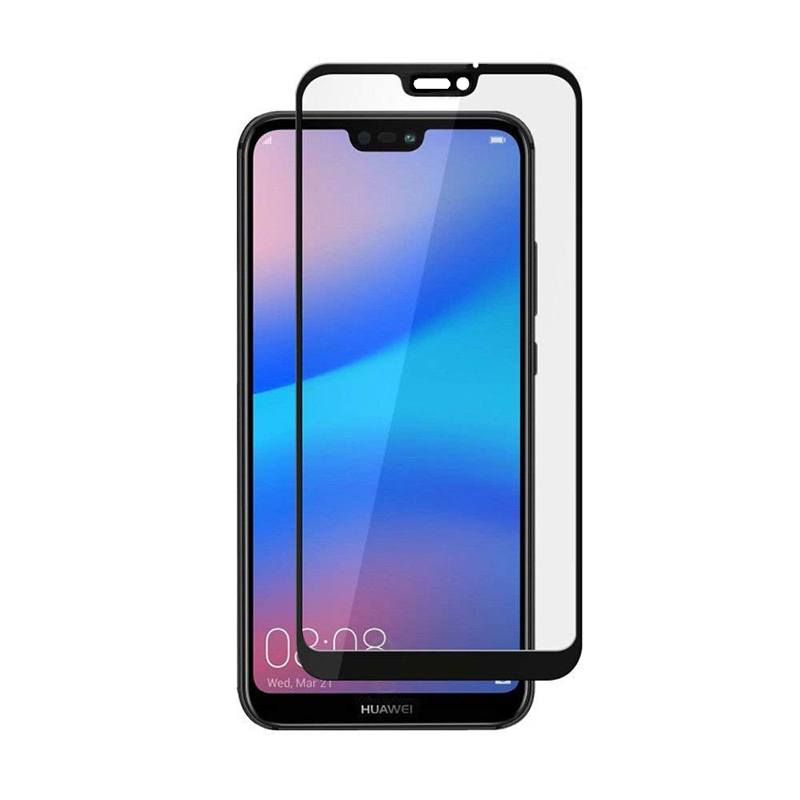 Купить Защитное стекло Full screen PowerPlant для Huawei P20 Lite Black