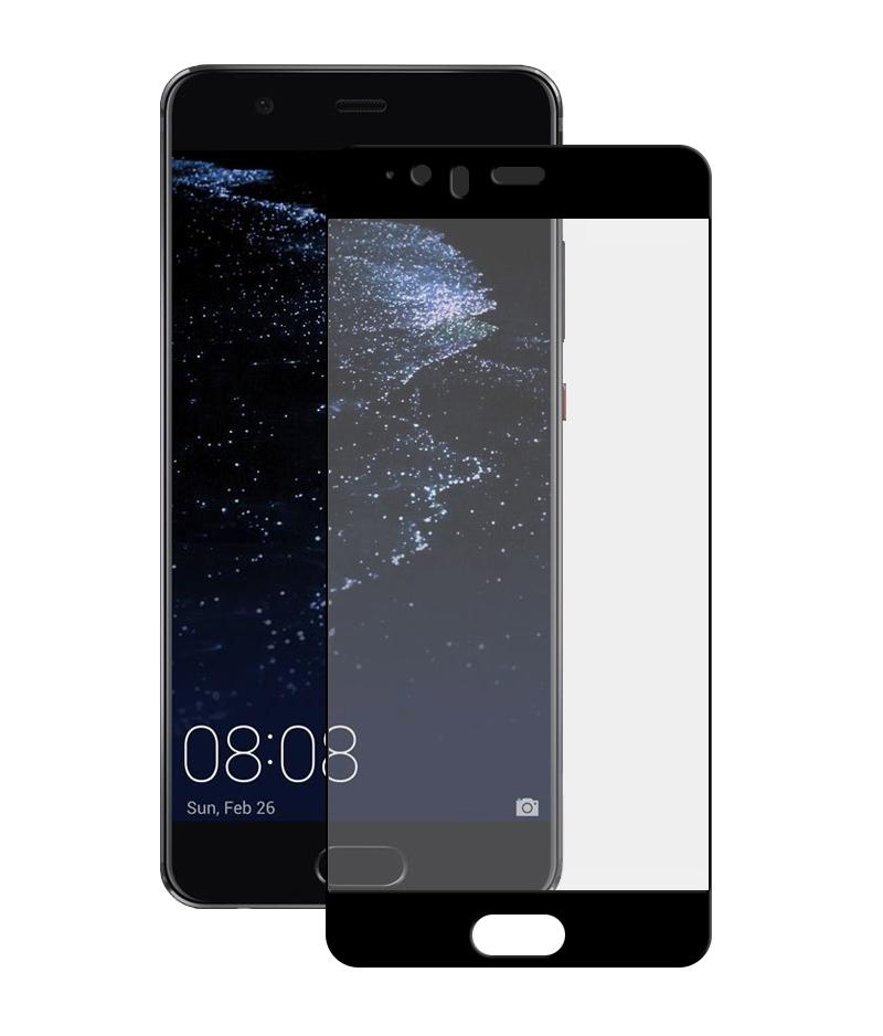 Купить Защитное стекло Full screen PowerPlant для Huawei P10 Plus Black