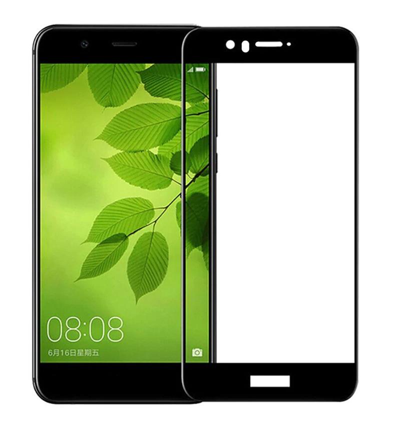 Купить Защитное стекло Full screen PowerPlant для Huawei Nova 2, Black