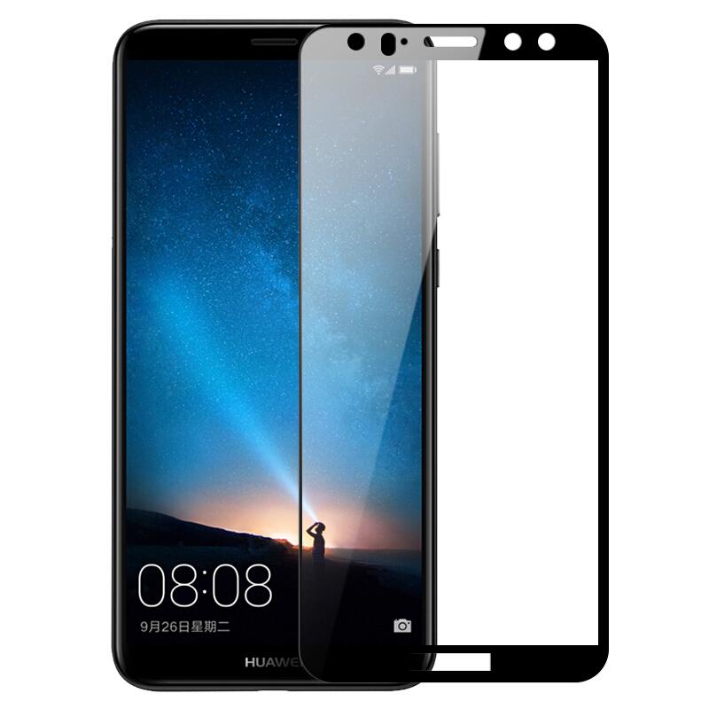 Купить Защитное стекло Full screen PowerPlant для Huawei Mate 10 Lite Black