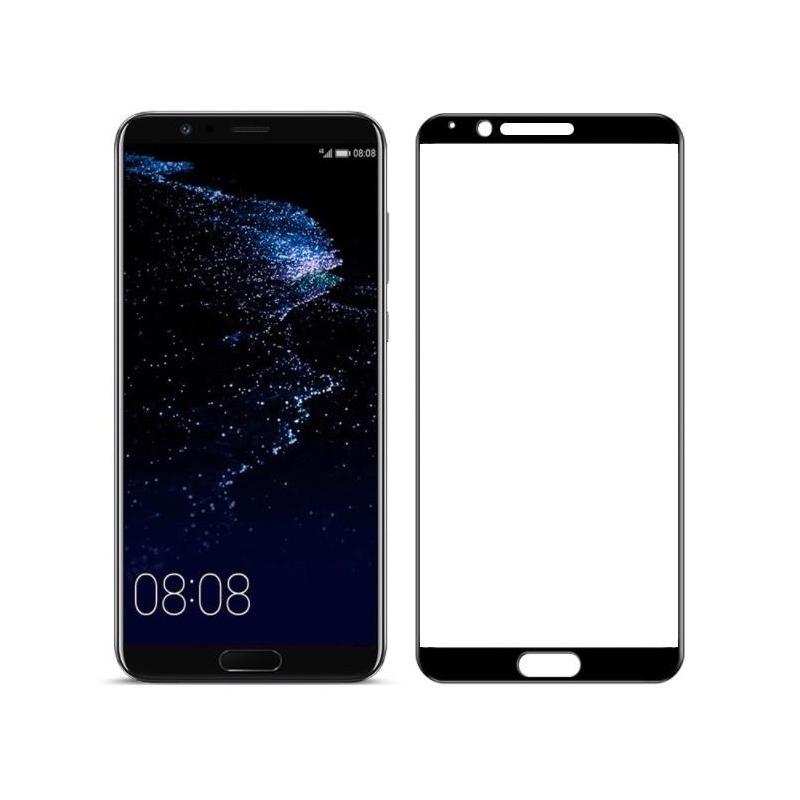 Купить Защитное стекло Full screen PowerPlant для Huawei Honor View 10 (V10) Black