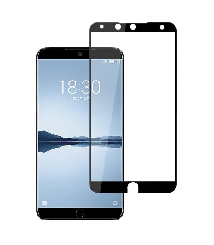 Купить Защитное стекло Full screen PowerPlant для Meizu 15 Black