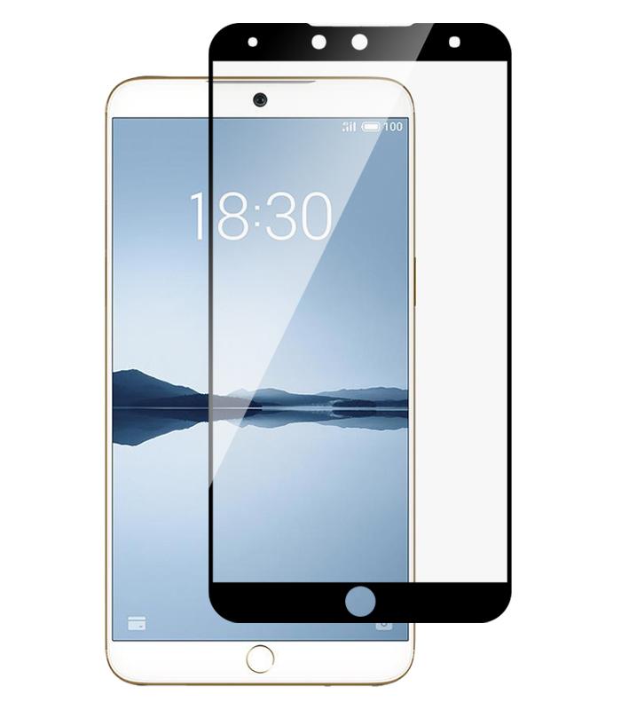 Купить Защитное стекло Full screen PowerPlant для Meizu 15 Lite Black