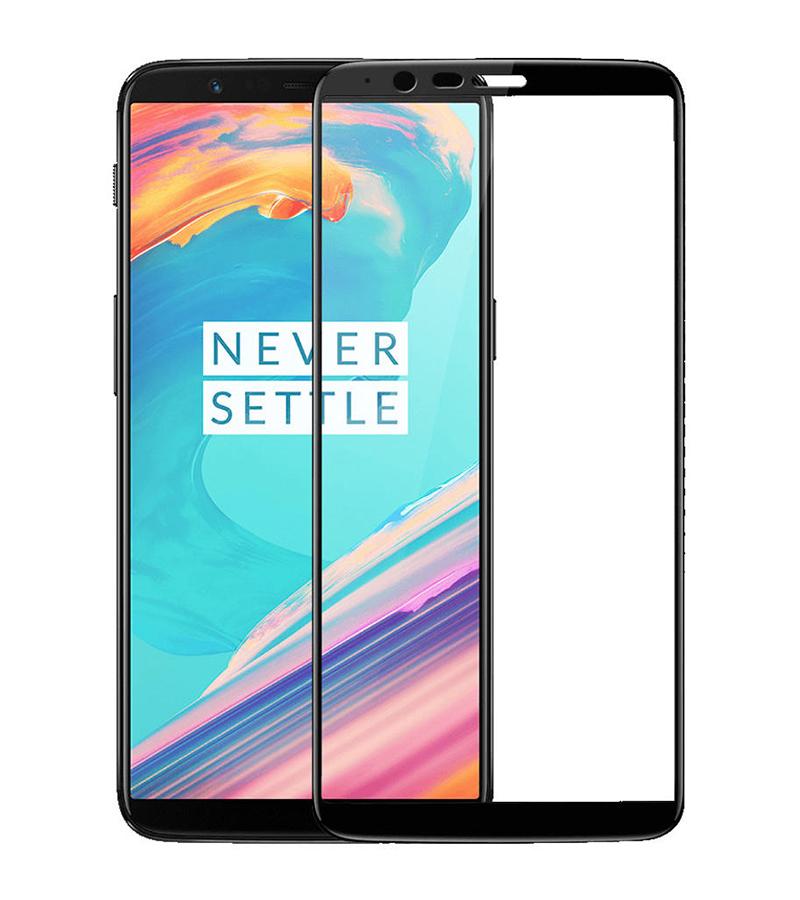Купить Защитное стекло Full screen PowerPlant для OnePlus 5T, Black