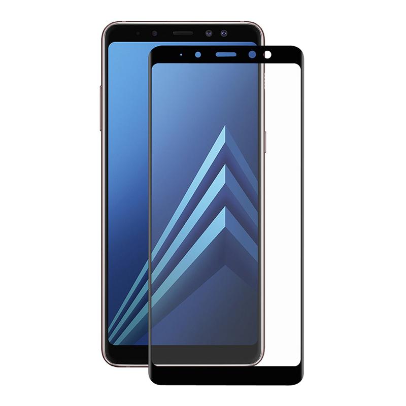 Купить Защитное стекло Full screen PowerPlant для Samsung Galaxy A8+ (2018), Black