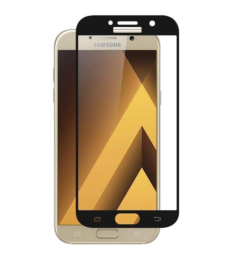 Купить Защитное стекло Full screen PowerPlant для Samsung Galaxy A7 (2017), Black