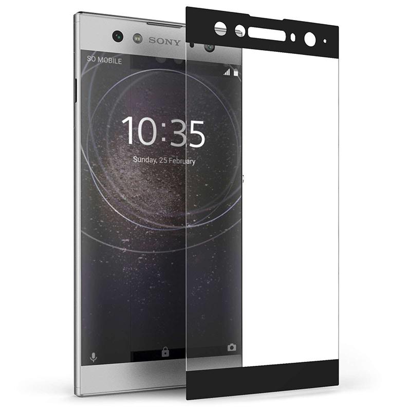 Купить Защитное стекло Full screen PowerPlant для Sony Xperia XA2 Ultra, Black