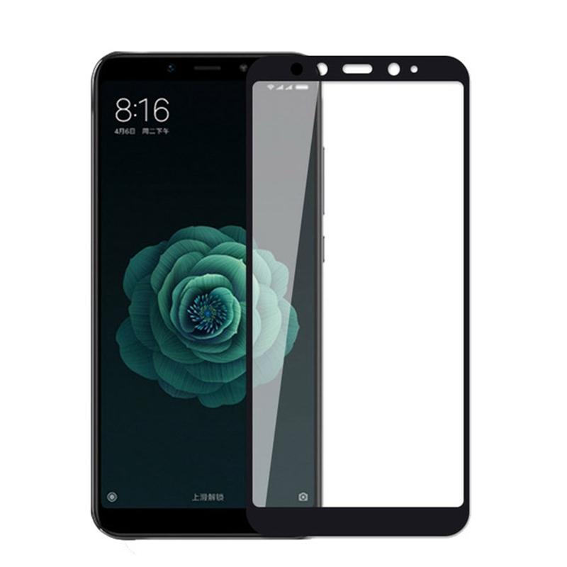 Купить Защитное стекло Full screen PowerPlant для Xiaomi Mi A2, Black