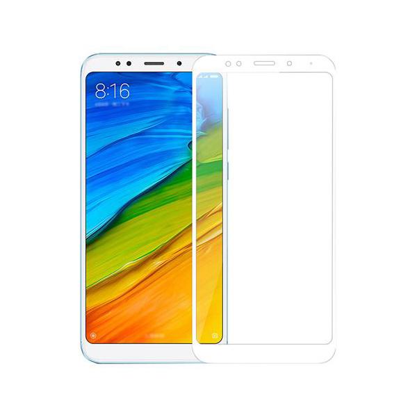 Купить Защитное стекло Full screen PowerPlant для Xiaomi Redmi 5, White