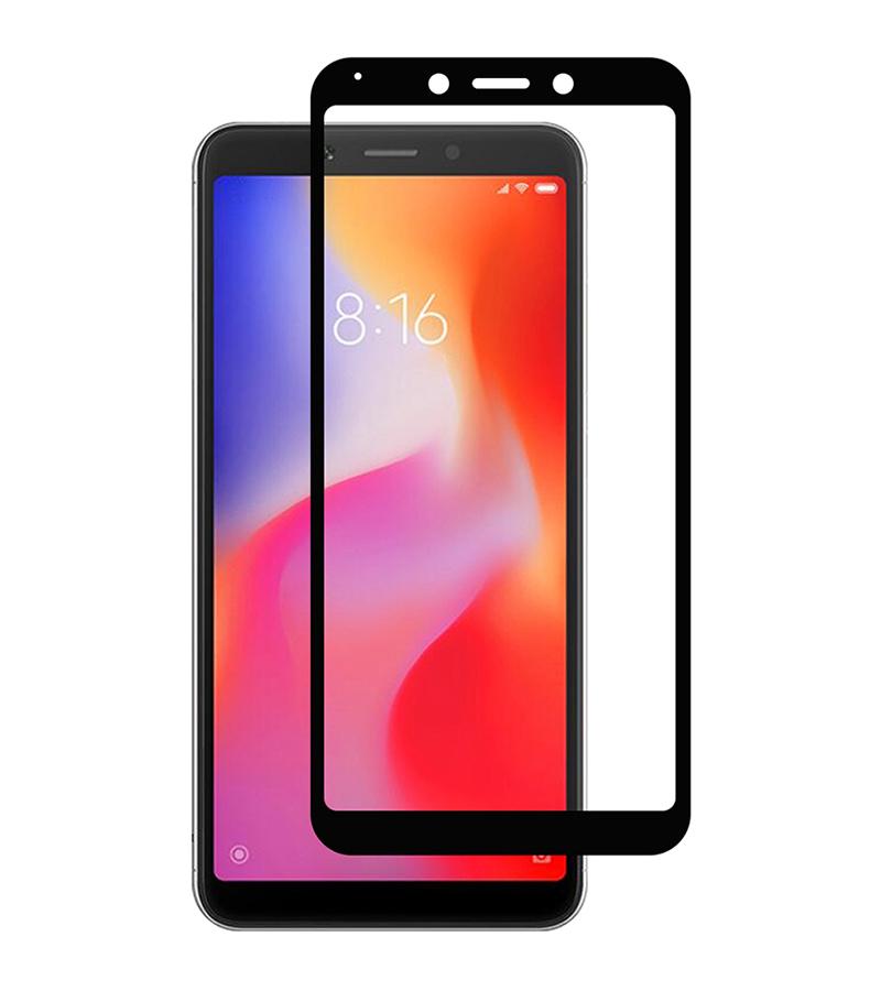 Купить Защитное стекло Full screen PowerPlant для Xiaomi Redmi 6, Black