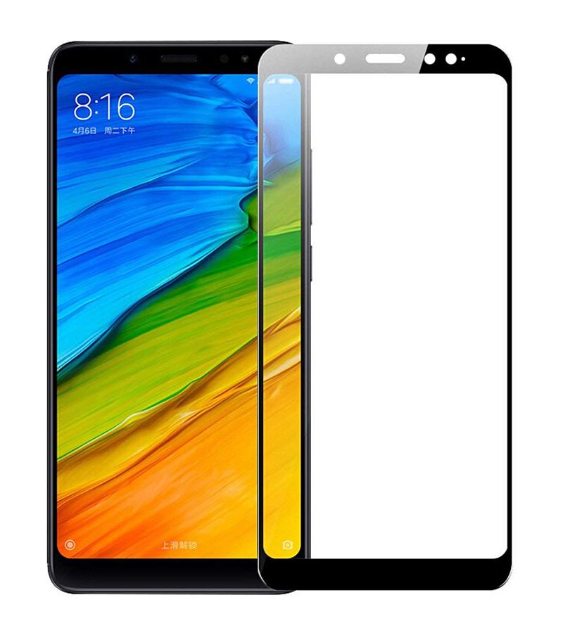 Купить Защитное стекло Full screen PowerPlant для Xiaomi Redmi Note 5 Pro, Black