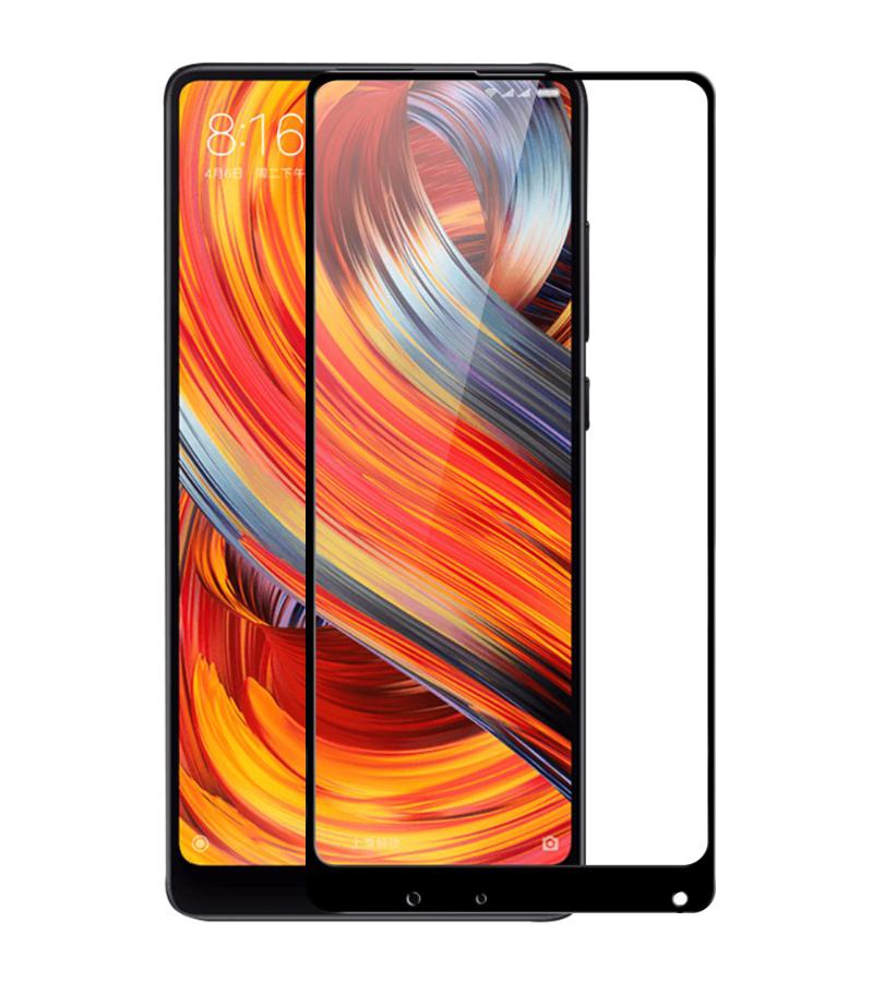 Купить Защитное стекло Full screen PowerPlant для Xiaomi Mi Mix 2S, Black