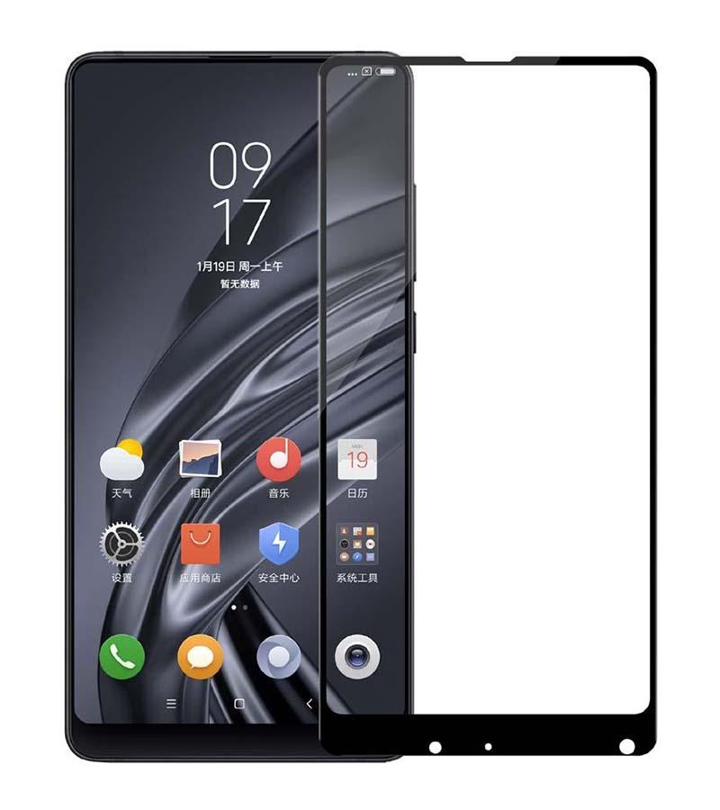 Купить Защитное стекло Full screen PowerPlant для Xiaomi Mi Mix 2, Black