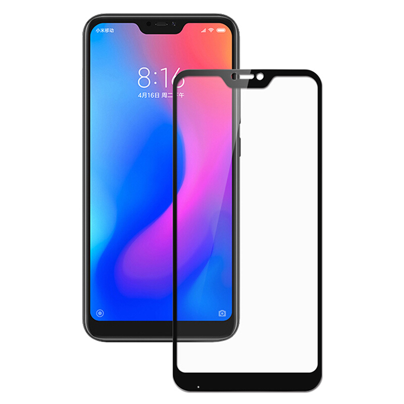 Купить Защитное стекло Full screen PowerPlant для Xiaomi Mi A2 Lite, Black