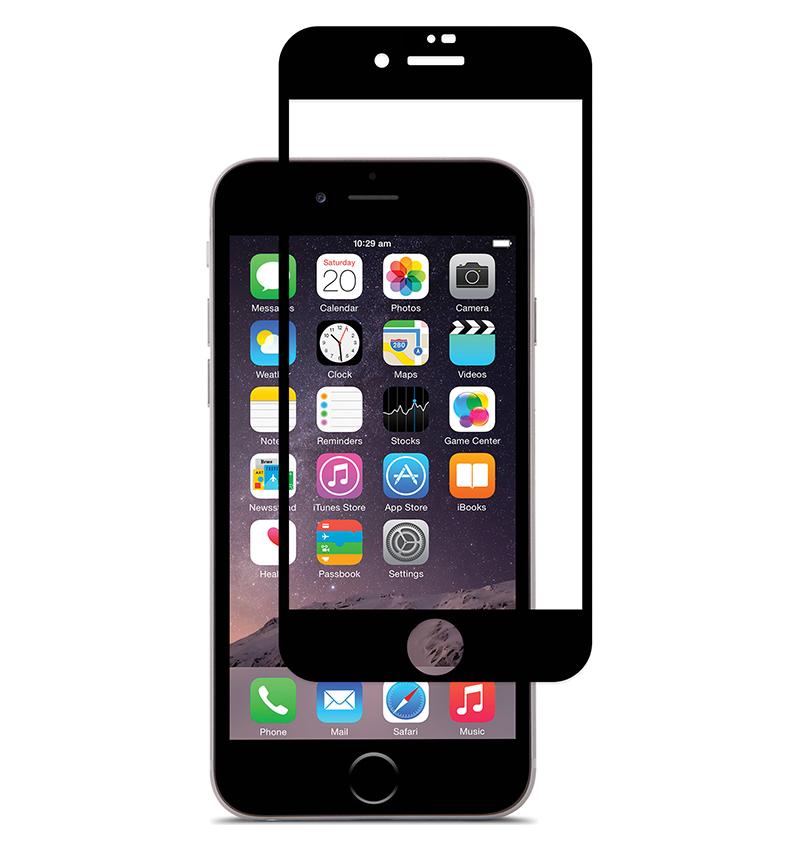 Купить Защитное стекло Full screen PowerPlant для Apple iPhone 7 Plus/8 Plus, Black