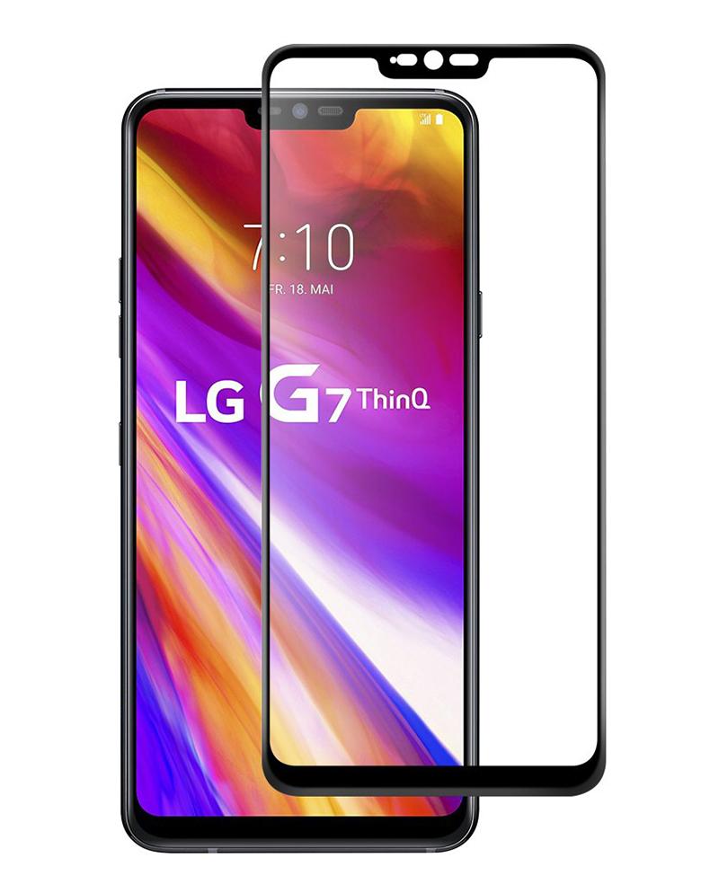 Купить Защитное стекло Full screen PowerPlant для LG G7 ThinQ, Black