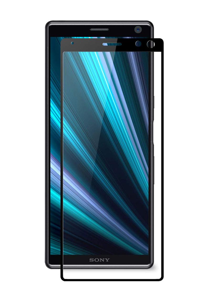 Купить Защитное стекло Full screen PowerPlant для Sony Xperia 10 (XA3), Black