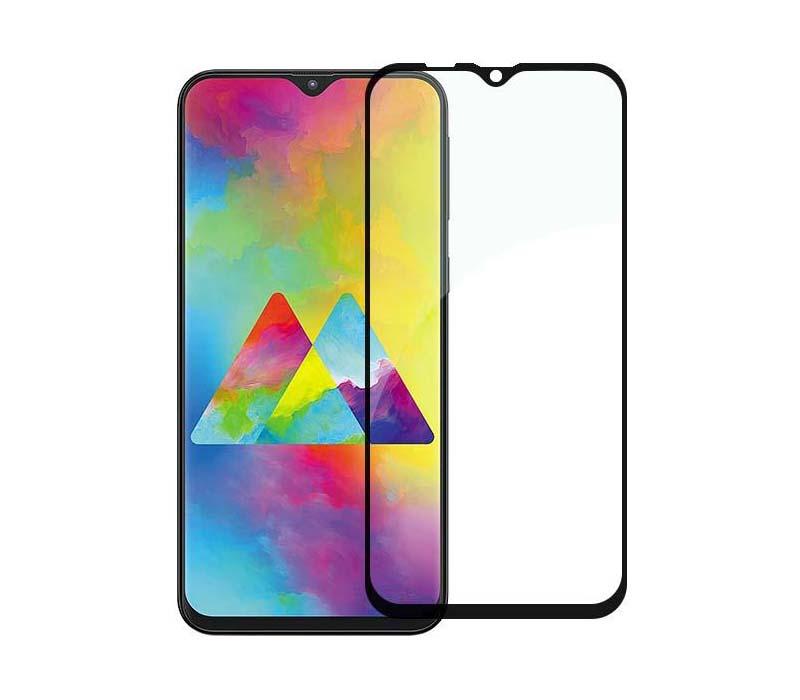 Купить Защитное стекло Full screen PowerPlant для Samsung Galaxy M20, Black