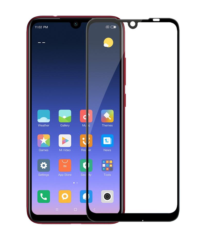 Купить Защитное стекло Full screen PowerPlant для Xiaomi Redmi Note 7 Pro, Black
