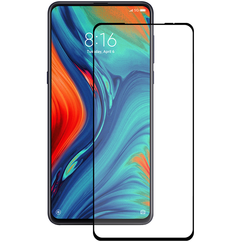 Купить Защитное стекло Full screen PowerPlant для Xiaomi Mi Mix 3, Black
