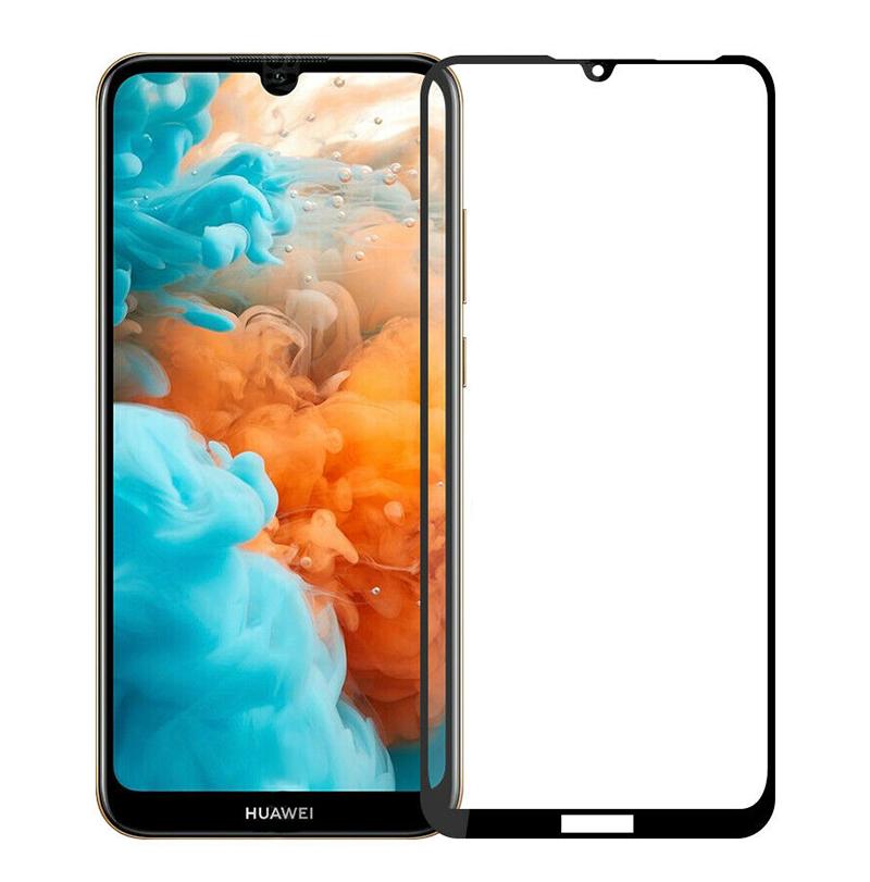 Купить Защитное стекло Full screen PowerPlant для Huawei Y6 (2019), Black