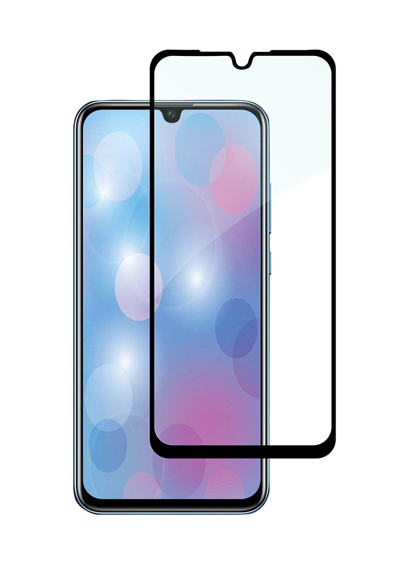 Купить Защитное стекло Full screen PowerPlant для Huawei P30, Black