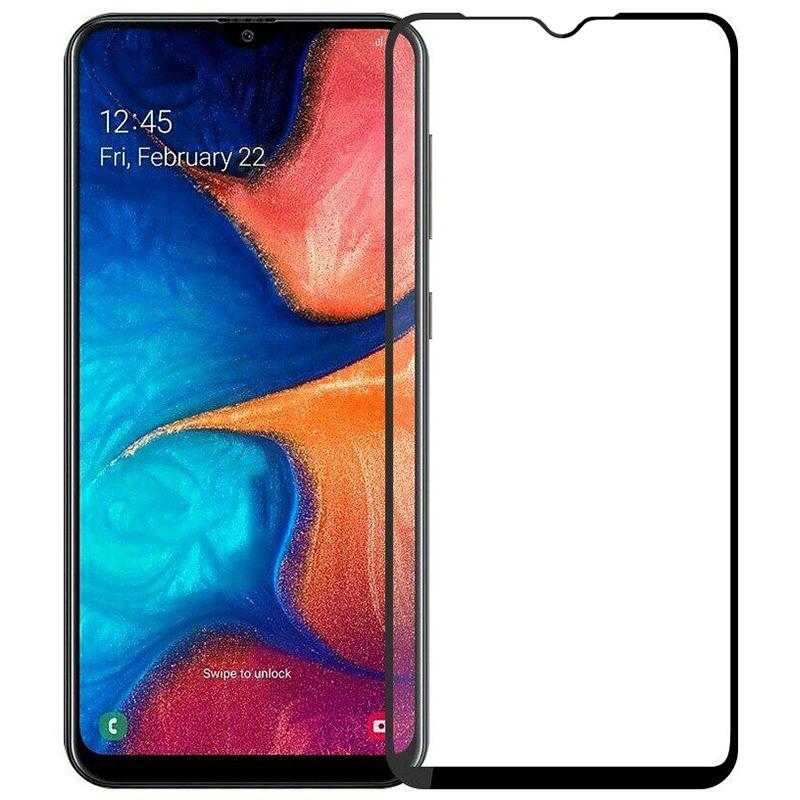 Купить Защитное стекло Full screen PowerPlant для Samsung Galaxy A20, Black