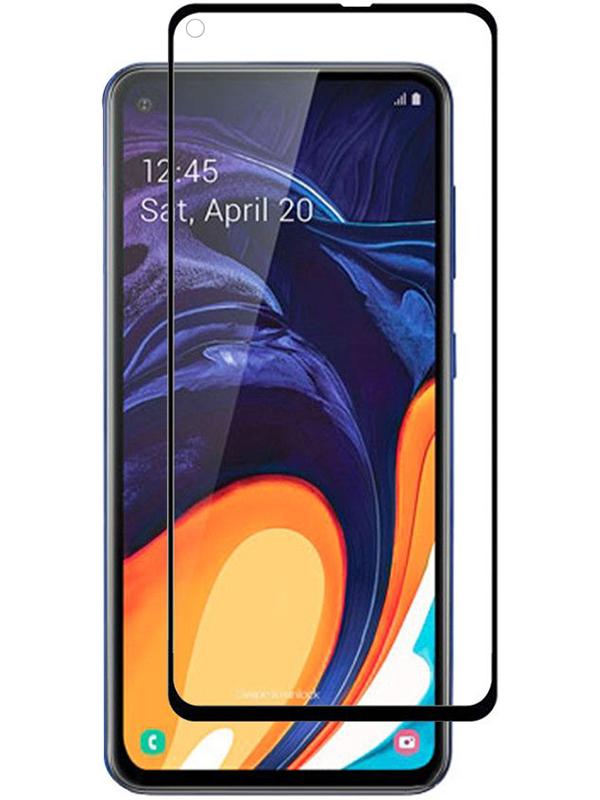 Купить Защитное стекло Full screen PowerPlant для Samsung Galaxy A60, Black
