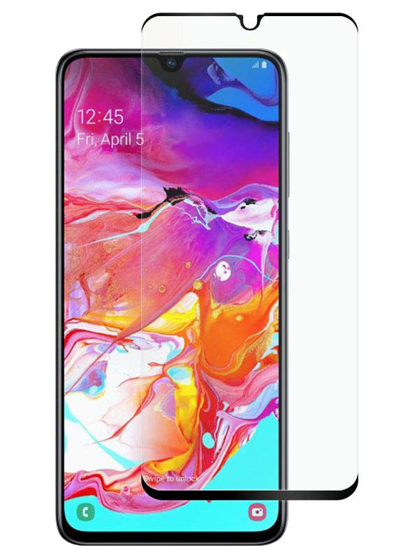 Купить Защитное стекло Full screen PowerPlant для Samsung Galaxy A70, Galaxy A70s, Black