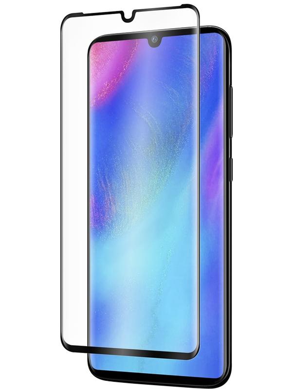 Купить Защитное стекло Full screen PowerPlant для Huawei P30 Pro, Black