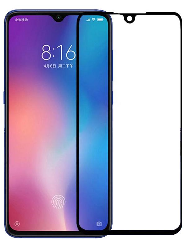 Купить Защитное стекло Full screen PowerPlant для Xiaomi Mi Play, Black