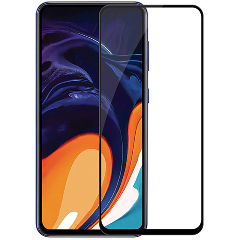 Купить Защитное стекло Full screen PowerPlant для Samsung Galaxy A80, Black