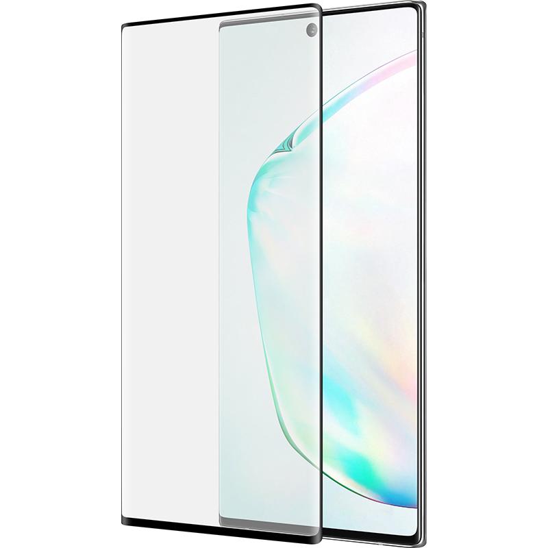 Купить Защитное стекло 3D PowerPlant для Samsung Galaxy Note 10 Plus, Black