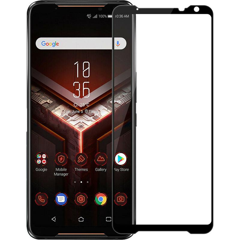 Купить Защитное стекло Full screen PowerPlant для Asus ROG Phone 2, Black