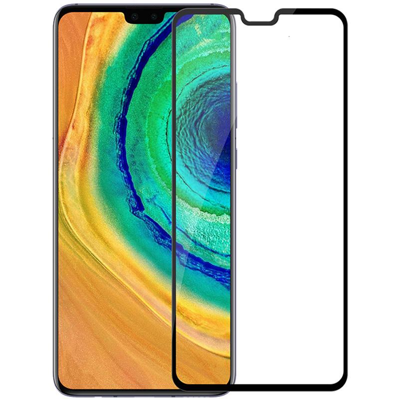 Купить Защитное стекло Full screen PowerPlant для Huawei Mate 30, Black