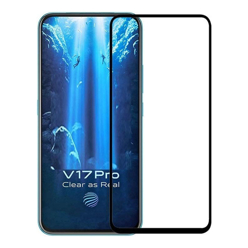 Купить Защитное стекло Full screen PowerPlant для Vivo V17 Pro, Black