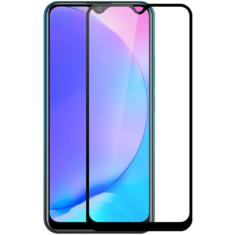 Купить Защитное стекло Full screen PowerPlant для Vivo Y15, Black