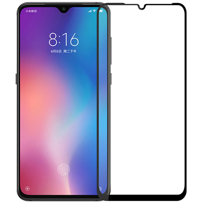 Купить Защитное стекло Full screen PowerPlant для Xiaomi Mi A3, Black