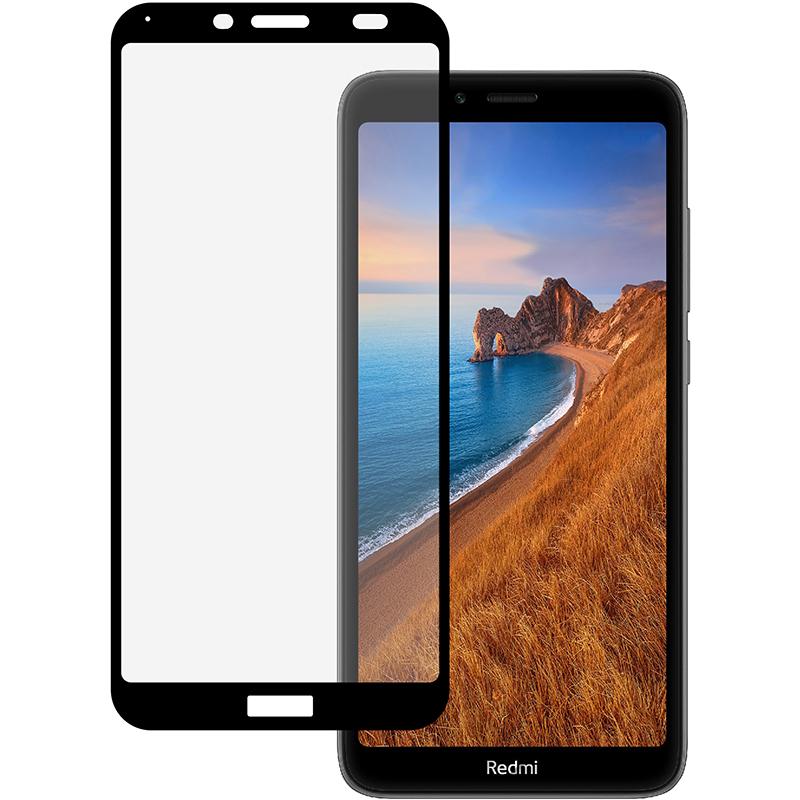 Купить Защитное стекло Full screen PowerPlant для Xiaomi Redmi 7A, Black