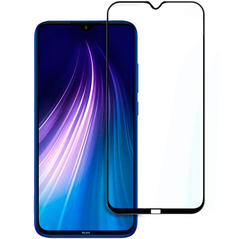 Купить Защитное стекло Full screen PowerPlant для Xiaomi Redmi Note 8, Black