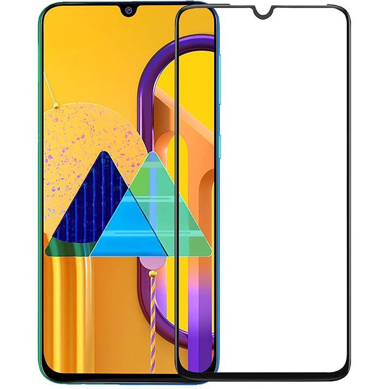 Купить Защитное стекло Full screen PowerPlant для Samsung Galaxy M31, Black